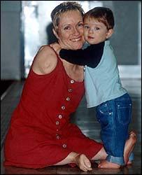 Alison and son Parys