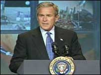Pres Bush, Nasa