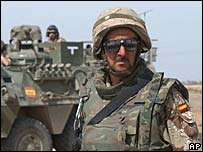 Spanish troops in Iraq