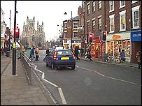 Selby town centre
