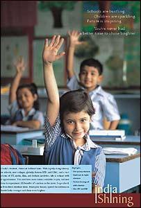 India Shining advertisement