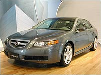 Honda Accura TL