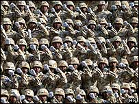 South Korean troops at ceremony of formation of Iraq contingent