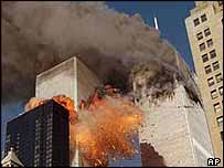 World Trade Centre attacked