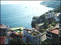 The seafront at Naples