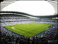The City of Manchester Stadium is part