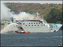 Stricken ferry