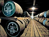 Whisky warehouse