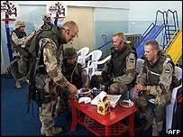 Estonian troops in Iraq