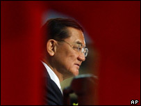 Opposition leader Lien Chan