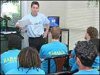 Bahamas coach and technical director Gary White