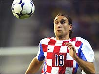 Croatia striker Dado Prso