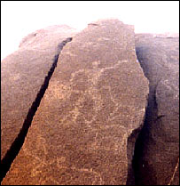 Kupgal rock, Antiquity