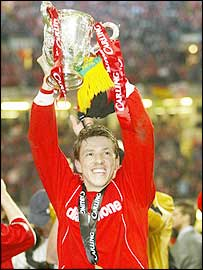 Juninho celebrates Middlesbrough's win