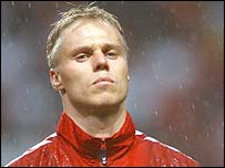 Denmark defender Martin Laursen