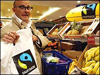 Harry Hill backs Fairtrade