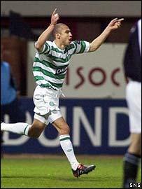 Henrik Larsson was on target