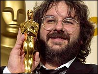 Peter Jackson at the Oscars