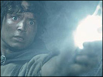 Elijah Wood as Frodo