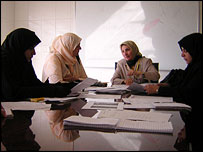Women's group in Basra