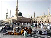 The Prophet Mohammad's Mosque in Medina