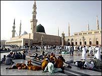 مسجد النبي محمد في المدينة المنورة