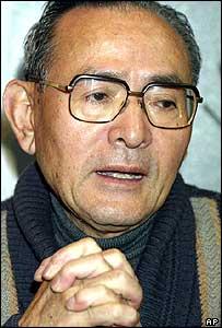 Former crew member Matashichi Oishi, 70