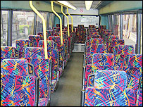 Inside Megabus