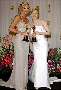 Charlize Theron and Renee Zellweger