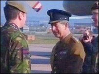 Prince of Wales at St Athan
