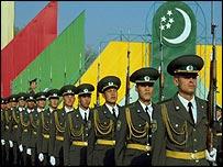 Turkmenistan soldiers