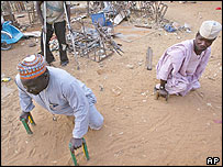 Polio victims in Kano