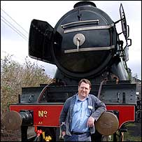 Jim Rees of the National Railway Museum
