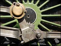 Flying Scotsman wheel