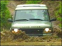 Land Rover Discovery Series 2 model