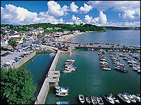 Saundersfoot - Picture courtesy of Wales Tourist Board