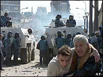 2004: UN intervenes to halt inter-ethnic clashes in Mitrovica