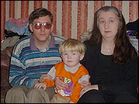 Ian, Nicholas and Jane Jackson