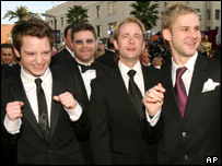 Elijah Wood, Sean Astin, Billy Boyd and Dominic Monaghan