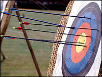 Archery is soaring in popularity thanks to the influence of the Lord of the Rings trilogy