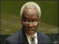 Percival Patterson, presidente del grupo CARICOM