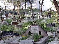 Karbala Malika Jahan graveyard in Lucknow