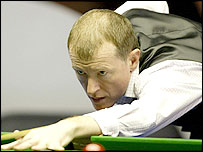 England's Steve Davis