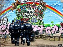 Police in Christiania