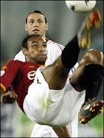 Juventus midfielder Emerson, pictured in action for Roma