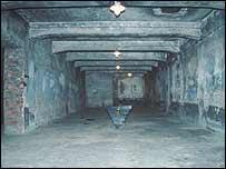 Hornos crematorios en Auschwitz