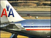 An American Airlines plane. Archive picture
