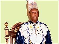 Solomon Gafabusa Iguru I, king of the Bunyoro-Kitara