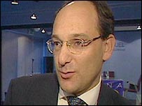 Peter Caruana, Gibraltar's chief minister pictured in 2002