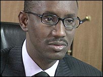 Nuhu Ribadu, Head of Nigeria's Economic and Financial Crimes Commission